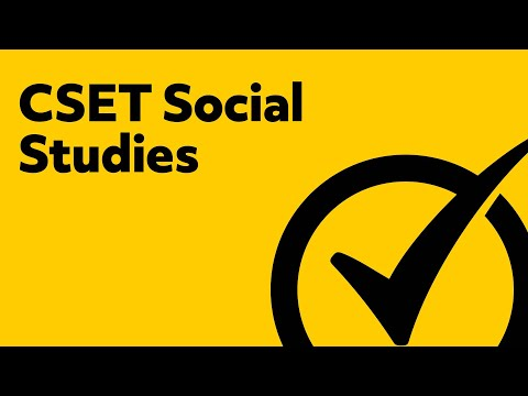 Free CSET Social Science Study Guide