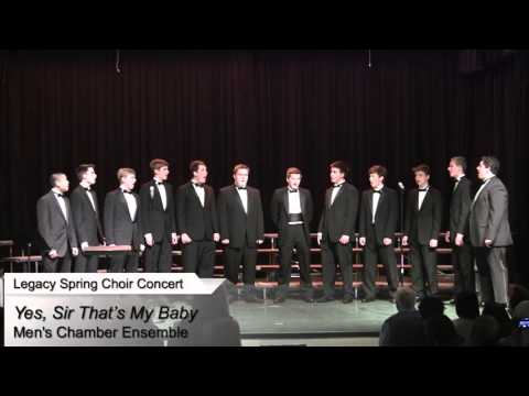 LCA Men's Chamber Ensemble Sings Yes, Sir That's My Baby