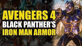 Avengers 4: Black Panther's Iron Man Armor