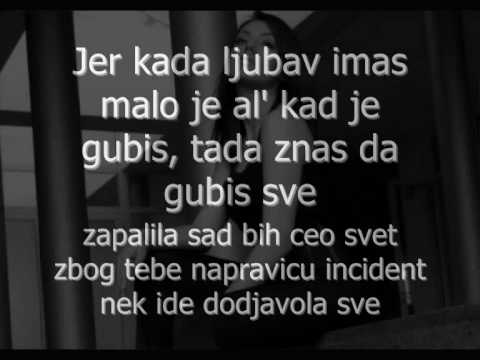 Tanja Savic - Incident - 2O1O. s tekstom