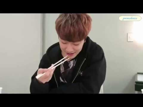 ftisland minhwan eating cute