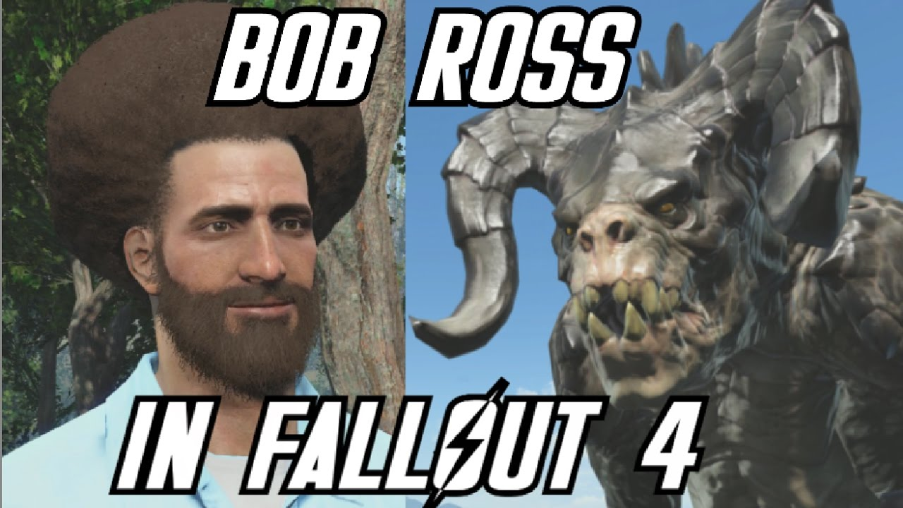 The Bob Ross Video Game in Fallout 4 - Part 2 - YouTube