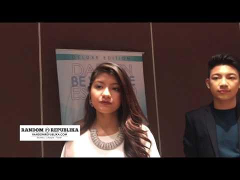 Darren Espanto and Nik Qistina teach other Malaysian song Young Hearts & Filipino song Kahit Kailan
