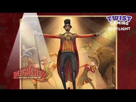 Ringmaster Welcome to The Big Top,Brand New FREE SHIPPING