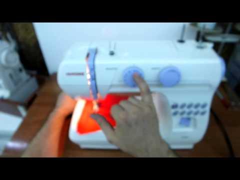 Janome 1008 Dikiş Makinası Kullanımı