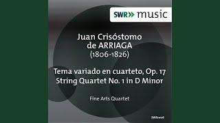 String Quartet No. 1 in D Minor: IV. Adagio - Allegretto