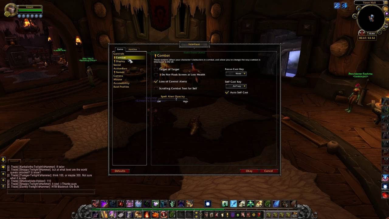 How To Enable Scrolling Combat Text for Self In WoW Legion