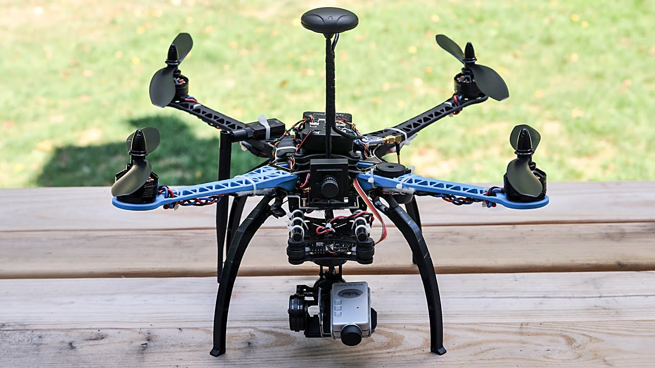 How To Build A  Axis Gimbal For Drone