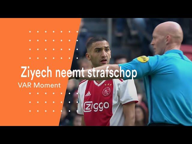 ARAG KNVB VAR Moment: Een strafschop voor Ajax