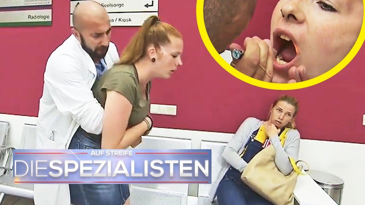 Zungenpiercing verschluckt! Mädchen in Lebensgefahr | Die