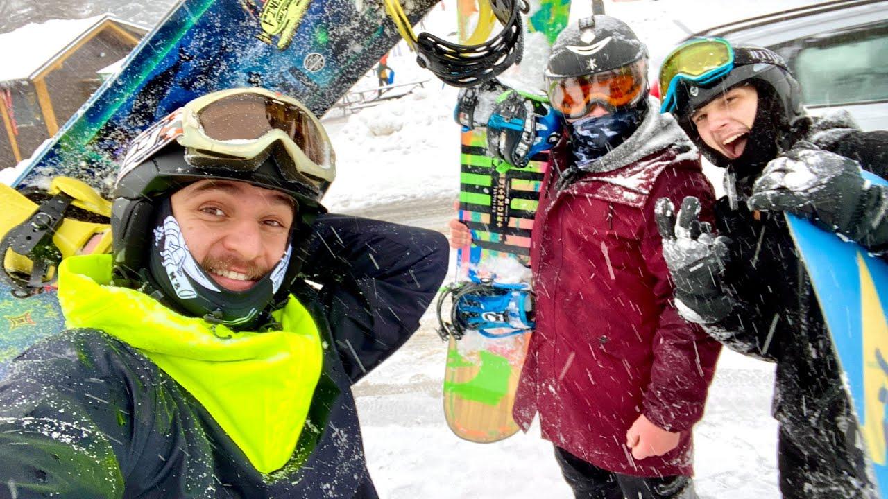 Kubánec na horách! | @Jay Fox poprvý v životě na Snowboardu