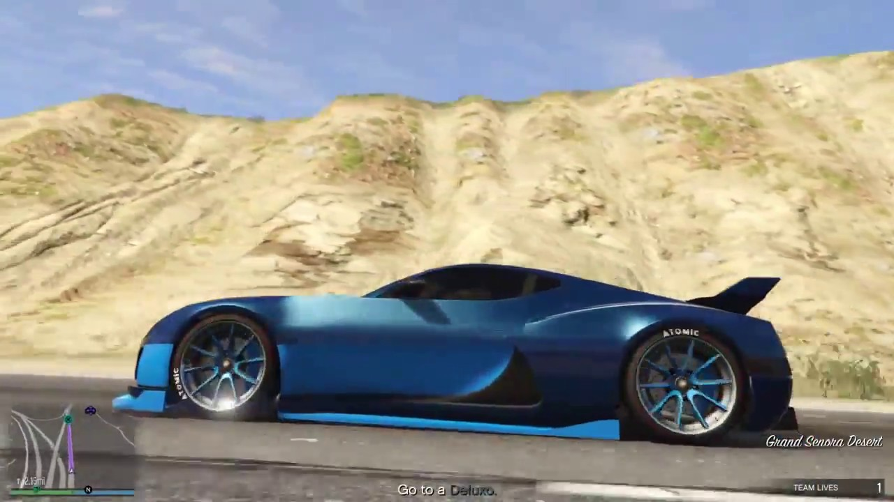 Gta 5 Coil Cyclone In Action Hybrid Beast Youtube