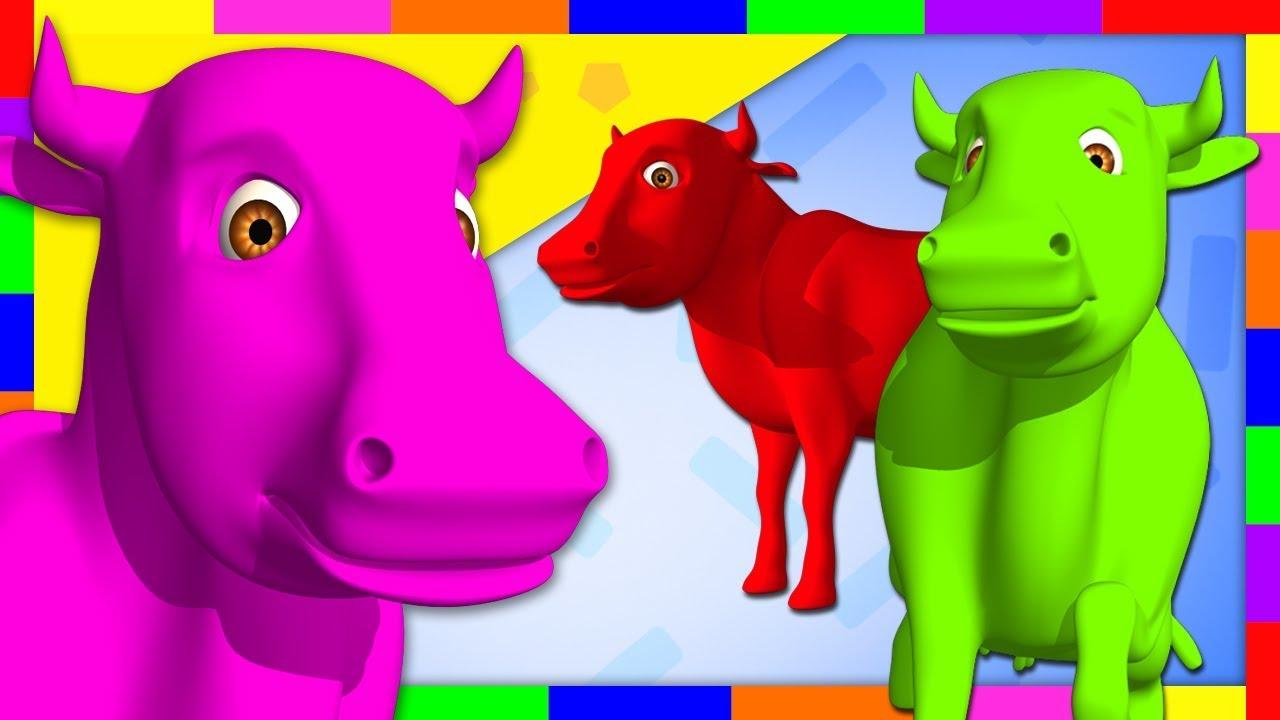 Pinta Y Limpia A La Vaca Lola Aprende Los Colores En La Granja