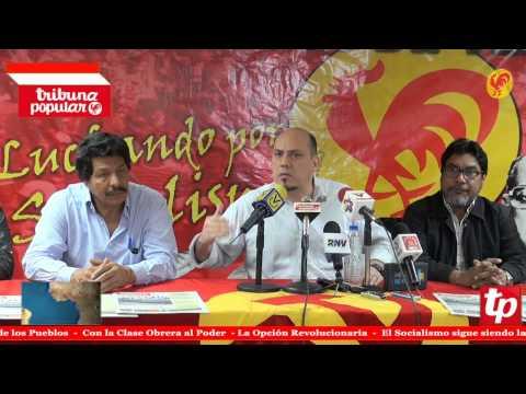 PCV rechaza presencia ex presidentes de derecha y reclama su expulsión