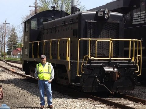 Last Norfolk Southern Train!!  NS Is History!! .............. In HD