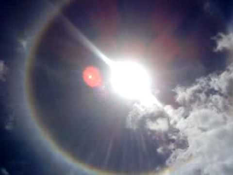 Sun halo in Trinidad