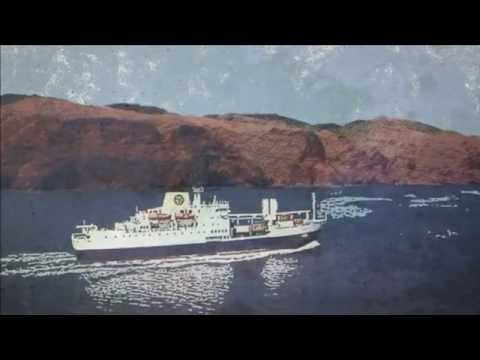 Last Boat To St Helena lyric video
