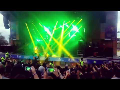 Ya no se que hacer conmigo- Cuarteto de nos  - concierto Radionica - Media torta Bogotá 10-09-2016