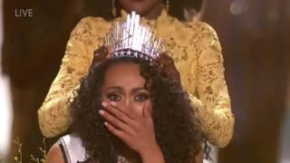 Miss USA 2017 Kára McCullough Crowning Moment