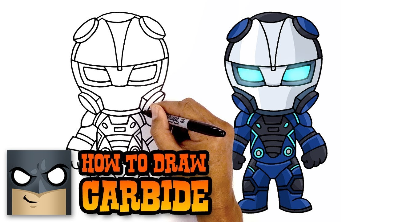 how to draw omega fortnite