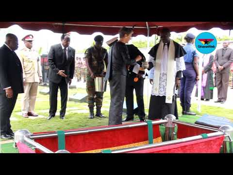 Kofi Annan laid to rest at Military Cemetery in Accra