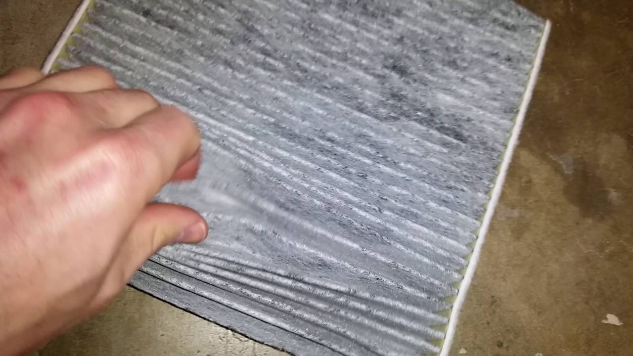2017 Toyota Avalon Checking A C Cabin Air Filter Element After 15 000 Miles