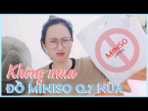 CÓ NÊN MUA ĐỒ Ở MINISO? LÝ DO MÌNH KHÔNG ĐI MINISO QUẬN 7 NỮA | HƯƠNG WITCH
