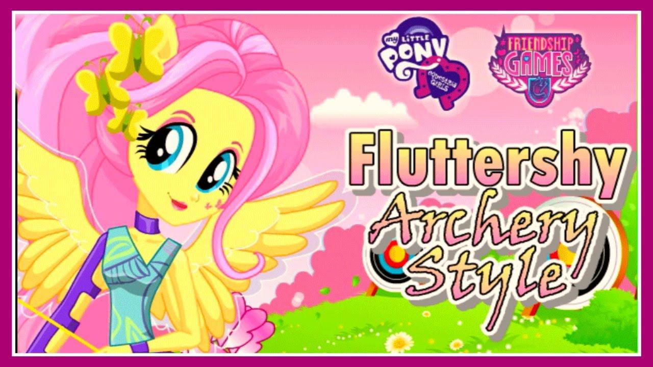 MLPEG Friendship Games Fluttershy School Spirit Style