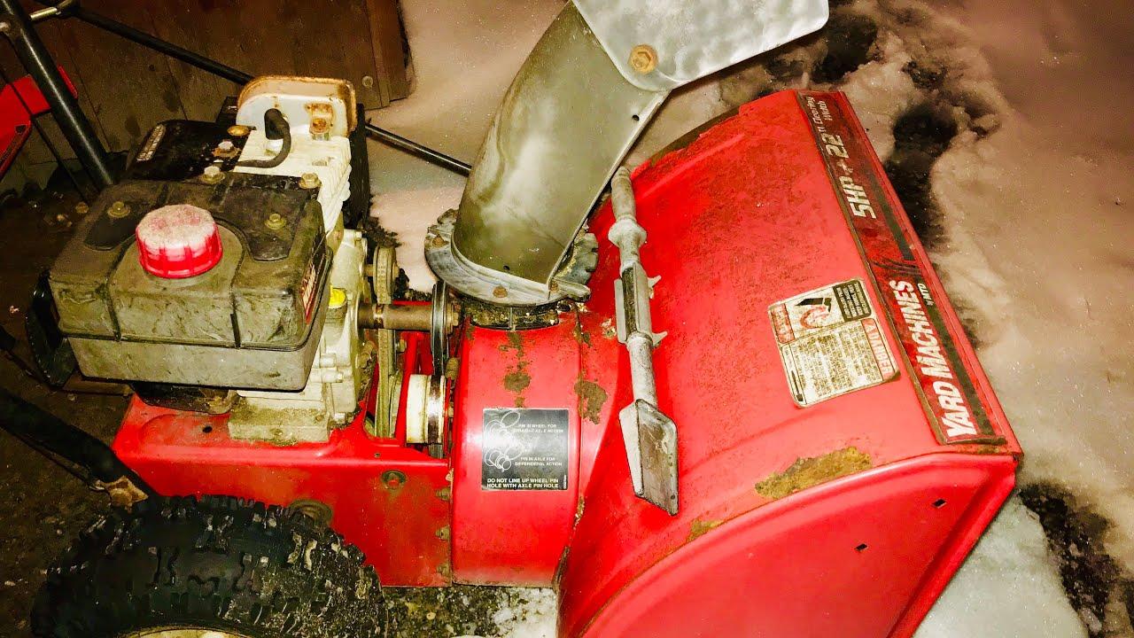Mtd Snow Blower Auger Repair | Shapeyourminds.com
