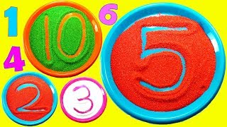 TOP 10 Ways to Learn the Numbers 1 to 10 for Children You Should Know. Lear to Count 123 for kids