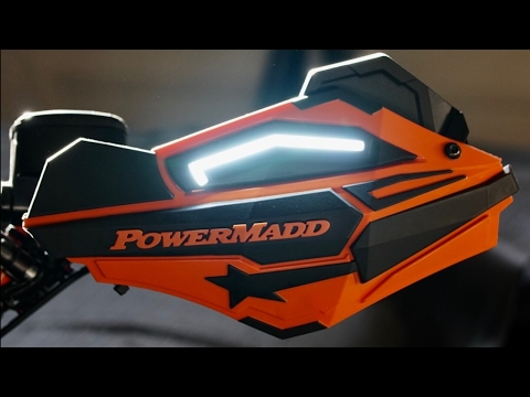 Installing A Powermadd Handguard LED Light Kit On A Polaris Sportsman Highlifter 1000