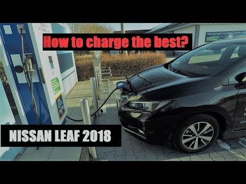 Nissan Leaf 2018 - Chargers and speed
