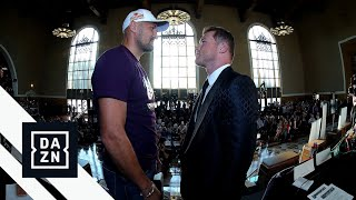 Canelo Alvarez vs. Sergey Kovalev Face-Off For First Time At Launch Press Conference