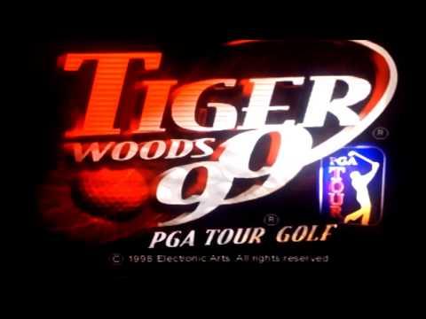 Tiger Woods PGA tour golf 99  (PlayStation) Gameplay #1