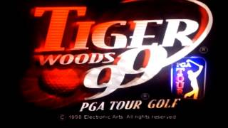 Tiger Woods PGA tour golf 99  (PlayStation) Gameplay #1