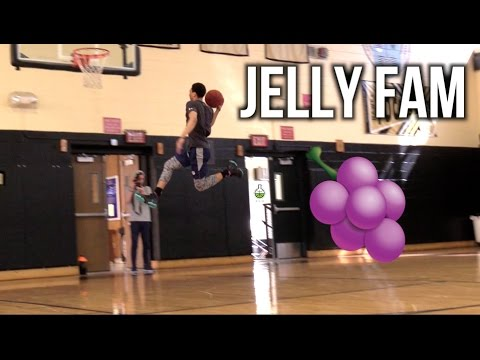 JELLY FAM🍇🍇 Kids SHOWING OFF NASTY LAYUPS After Workout!! Jahvon Quinerly, FILAYYYY & More