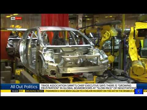 Brexit fallout: investment in UK car industry collapses by half in one year