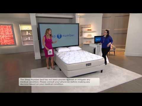 Sleep Number Qseries 6.1 CK Mattress Set w/ADAT & Modular Base with Stacey Stauffer