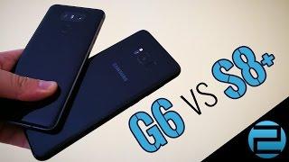 Ki nyer ma? Samsung Galaxy S8+ vs. LG G6 sebességteszt!