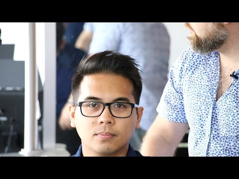 Step by Step Men's Haircut on Asian Hair - TheSalonGuy