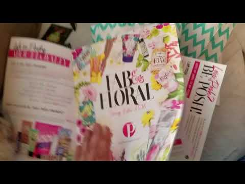 Perfectly Posh Pink Ink Core Catalog and Spring Samples