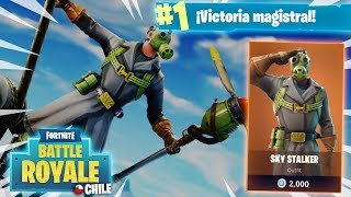 *NEW SKIN* PILOTO *SORTEO PAVOS* +260 WINS TOP #132 FORTNITE CHILE!! @CAOZYT
