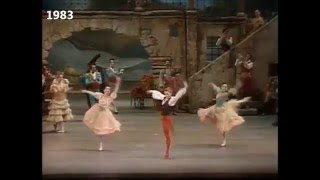 Now & Then - Don Quixote Act 1 pas de trois compilation 1960s-2010s Kirov/MT