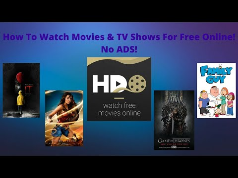 How To Watch Movies and TV Shows For Free Online with No Ads!!!