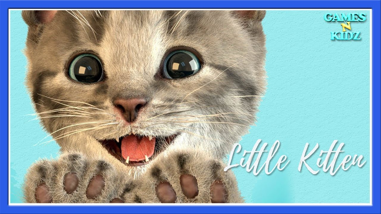 Learn & Play Fun Pet Care My Cute Little Cat Fun Cartoon Cute