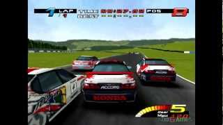 TOCA Championship Racing - Gameplay PSX (PS One) HD 720P (Playstation classics)