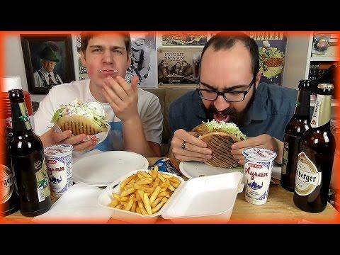 Doner Kebab mit Tony | Mukbang Deutsch English [Live Twitch] eatingshow HTLL