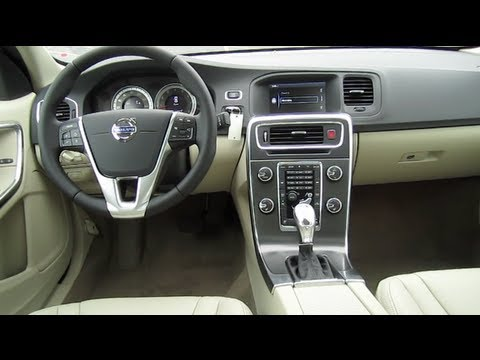 2013 VOLVO S60 REVIEW ENGINE INTERIOR