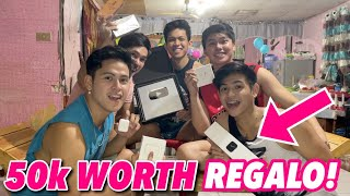 UNBOXING SILVER PLAY BUTTON + SURPRISE | Japet Leo Capuno