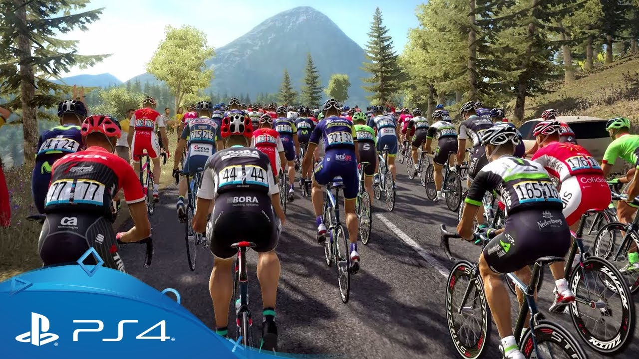Le Tour De France 2017 Gameplay Trailer Ps4 Youtube